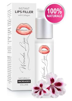 WondaLips Collagen Fillers, Natural Lips, Omega 3, Health And Beauty, Make Up, Lipstick, Website, Fitness, Gadget