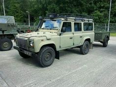 Land Rover Defender 110 Td5 Sw wolf. Ready for military.