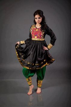 traditional afghan dress