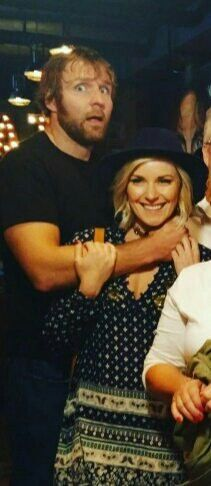 Renee Young & Dean Ambrose