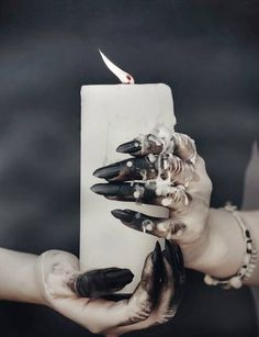 Candle magick #witchcraft