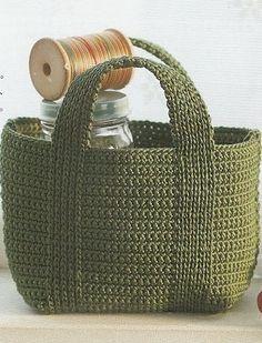 Ideas para el hogar: Bolsas en crochet