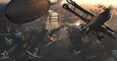 ArtStation - Assassin's Creed: Syndicate (Compositions), Darek Zabrocki