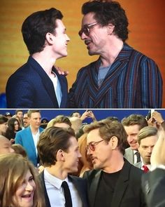 Tom & RDJ Avengers Infinity War & Spider-Man Homecoming