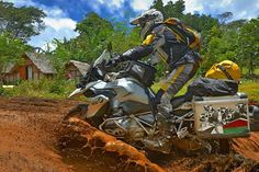 In Madagascar with the new BMW R 1200 GS