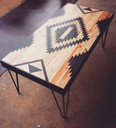 Small Coffee Tables Upcycled Wood Tables Pallet by RobertsonCheney