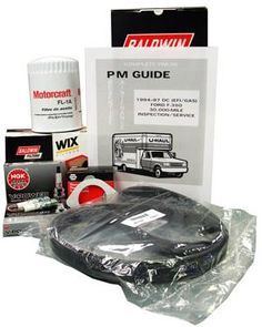 Preventative Maintenance Kit  Ford  For 94-97 F350 $129 - Kit contains nine different parts and an official U-Haul maintenance manual.