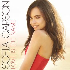 "We learned earlier in the week that Sofia Carson's debut single ""Love Is The Name"" was going to arrive on April 8, 2016, and now Miss Sofia shared that the"