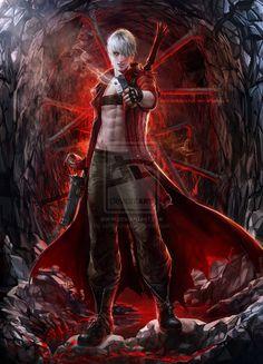 Dante .DMC. .update. by *sakimichan on deviantART