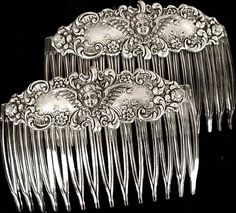 Victorian hair ornaments
