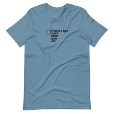 Smiths Short-Sleeve T-Shirt - Steel Blue / 2XL