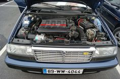 Lancia thema 8.32 1988 motor