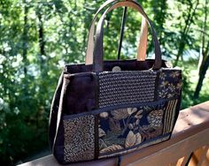 Check out this item in my Etsy shop https://www.etsy.com/listing/244201314/fabric-handbagmediumsoft-suede