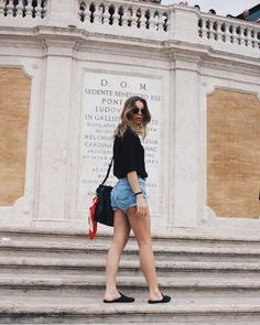 Spanish Steps. Rome, Italy. Fashion & Outfits in Italy. What to wear in Italy. Instagram: @allegrashaw