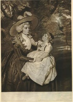 A lady and child, 1787. British Museum 1840,0808.99