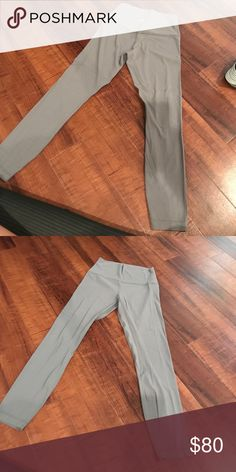 Lululemon grey align pant Worn twice lululemon athletica Pants Leggings