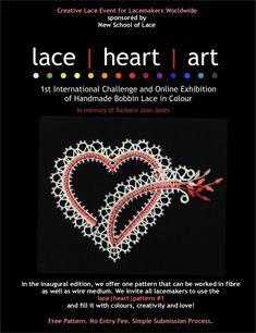 lace-heart-art challenge Lenka's Way of Lace - DIY and crafts Lace Heart, Heart Art, Fun Crafts For Kids, Diy And Crafts, Kid Crafts, Art Inspiration Drawing, Bobbin Lace, Art Challenge, Hearts