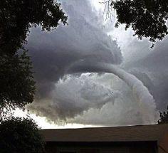 Waterspout Vortex - Tampa Bay
