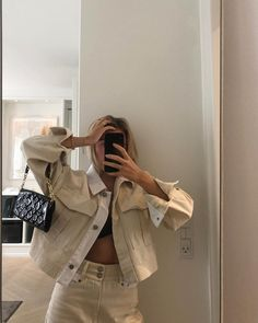 Beige Outfit, Mode Outfits, Fashion Outfits, Womens Fashion, Fashion Killa, Look Fashion, Mode Streetwear, Mode Inspiration, Look Cool