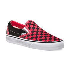 339d108ec001c8 Vans Classic Slip On (Black Formula One Checkerboard)