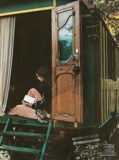 A brilliant getaway. Converted train car.