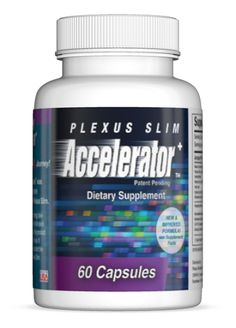Accelerator+ Accelerator+ helps speed up weight loss and overcome weight plateaus. The combination of ingredients in Slim and Accelerator+ work synergistically to help you lose weight fast! http://kellietarawa.myplexusproducts.com/products/accelerator