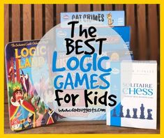 Games that teach children the arts of logic and deduction - very important skills to practice. Games like this strengthen our executive functions and help us solve problems. #boardgames #familygames #gamenight #kidsgames #dadsuggests Logic Games For Kids, Board Games For Kids, Family Board Games, Problem Solving, Battle Games, Typing Games, Deduction, Fun Challenges