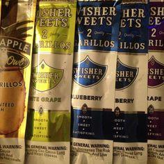 Which flavor do you like? #swishersweets #swishersmokes #swisher #sweet #smoke #tropical #blueberry