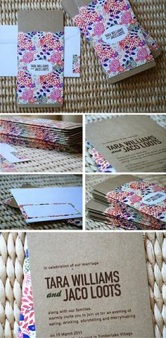joliejolie design | wedding invitation