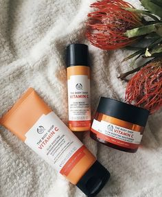 Body Shop At Home, The Body Shop, Vitamin C, Beauty Skin, Routine, Skincare, Range, Shopping, Products