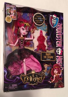 Monster High Draculaura Fashion Doll Jewelry Box Coffin Bed Set