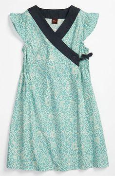 Tea Collection Woven Wrap Dress (Little Girls & Big Girls)   Nordstrom