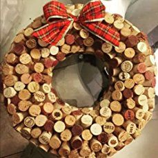 Need a gift for a wine enthusiast? Have you been saving corks for a fun holiday project? How about a cork wreath? This is a fun (and time-consuming) project to undertake while sipping a holiday punch and watching a favorite holiday movie. Be warned: you might want to keep it for yourself.