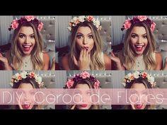 DIY ♡ Coroa de Flores  ✄❊✓