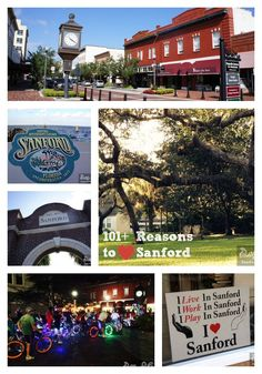 101 Reasons to Love Sanford Florida - Lists restaurants, events and Places In Florida, Moving To Florida, Florida Vacation, Florida Travel, Sanford Florida, Florida Adventures, Disney World Theme Parks, Orlando Travel, Park Resorts