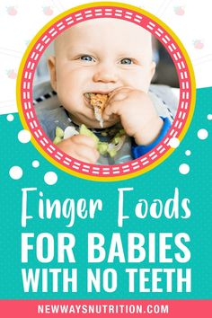 Do you worry about give finger foods for a baby with no teeth? There is a secret that teeth are pretty irrelevant for babies, especially before one! Though all foods need to be served complete safely to babies, regardless of whether they have teeth or not. Here you get some guidance and tips that will help you feel confident about how you feed your baby. Read it! Toddler Finger Foods, Toddler Meals, Food F, Starting Solids, Baby First Foods, Baby Led Weaning, Meals For One, Baby Feeding, Baby Food Recipes