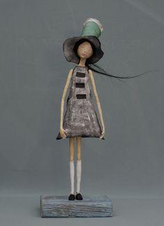 windy2   papier mache doll made by me   P Konski   Flickr