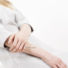 FIONN Shiny Silver rings and bangle. Simple Designs, Silver Rings, Bangles, Collections, Contemporary, Accessories, Jewelry, Simple Drawings, Bracelets