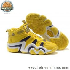 Adidas Crazy 8 Lakers Yellow Justin Bieber Shoes