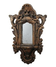 Established 98 Brown Rustic Wall Mirror   zulily