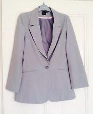 For sale on ebay - Light Grey ASOS Boyfriend Blazer Size UK 10