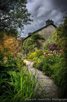 Beatrix Potter's house, Hill Top, Near Sawrey, England