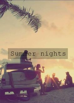 I love summer nights - they don't really look like this in Weymouth though