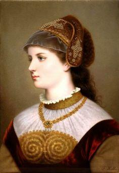 THE QUEEN H.M. Queen Anne Boleyn of England, née Boleyn of The Counts of Wiltshire (1501-1536)