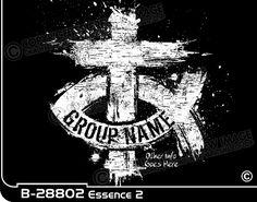 Church Art Works - Budget Christian t-shirt Essence 2 Youth Group Names, Youth Group Shirts, Youth Groups, Christian Crafts, Christian Shirts, Church Camp, Shirt Ideas, Youth Ministry, Cricut