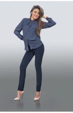 Pantaloni albastru închis Style, Fashion, Moda, Stylus, Fasion, Trendy Fashion, La Mode