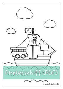 Ausmalbild Piratenschiff Malvorlagen Fur Kinder Zum Ausdrucken Ausmalbilder Piraten Piraten Schiff