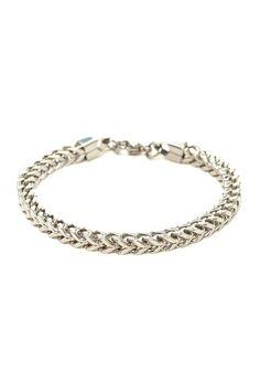 Cobra Chain Link Bracelet by Stephen Oliver on @HauteLook