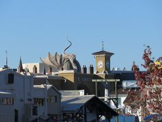 Universal Studios-Islands of Adventure December 2014 // UOR - view of Diagon Alley from across the park // Photo by: PNLT_BX // IMG_2699