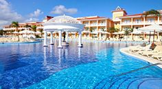 Pool at Luxury Bahia Principe Ambar in Punta Cana #travel